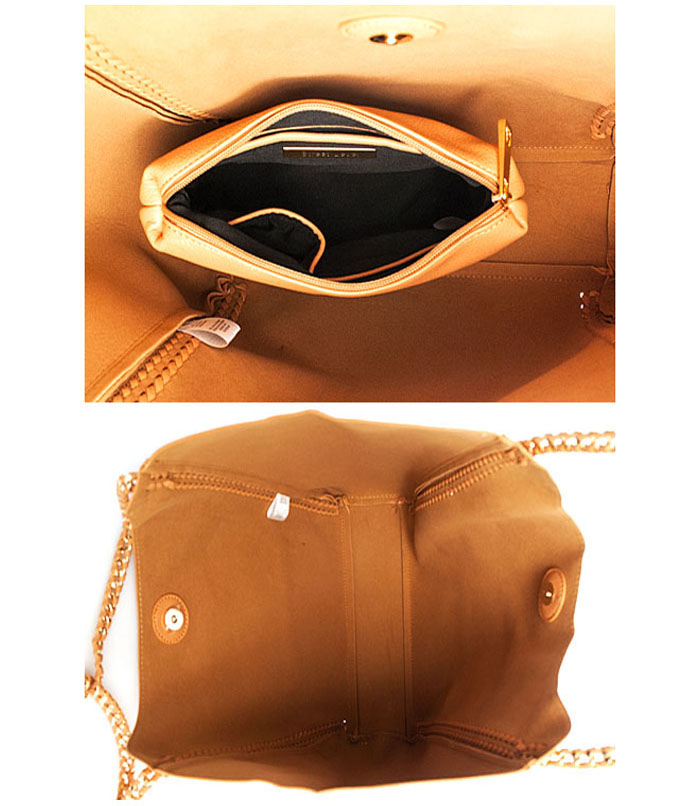 Sholonda Hobo Shopper Tote Bag Tan3