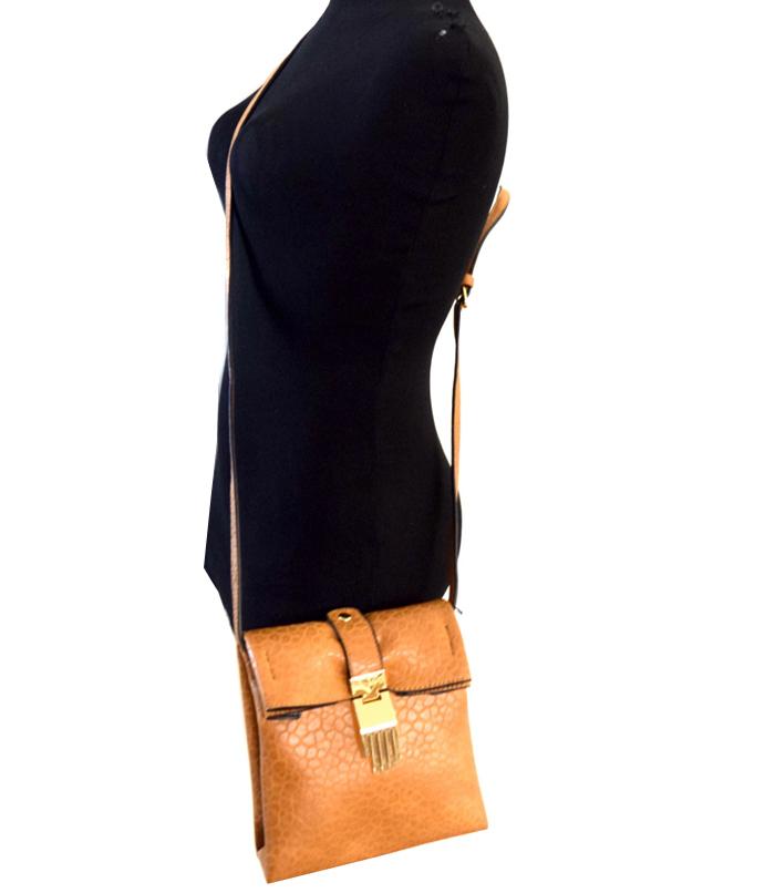 Simone Cross Body Bag Brown2