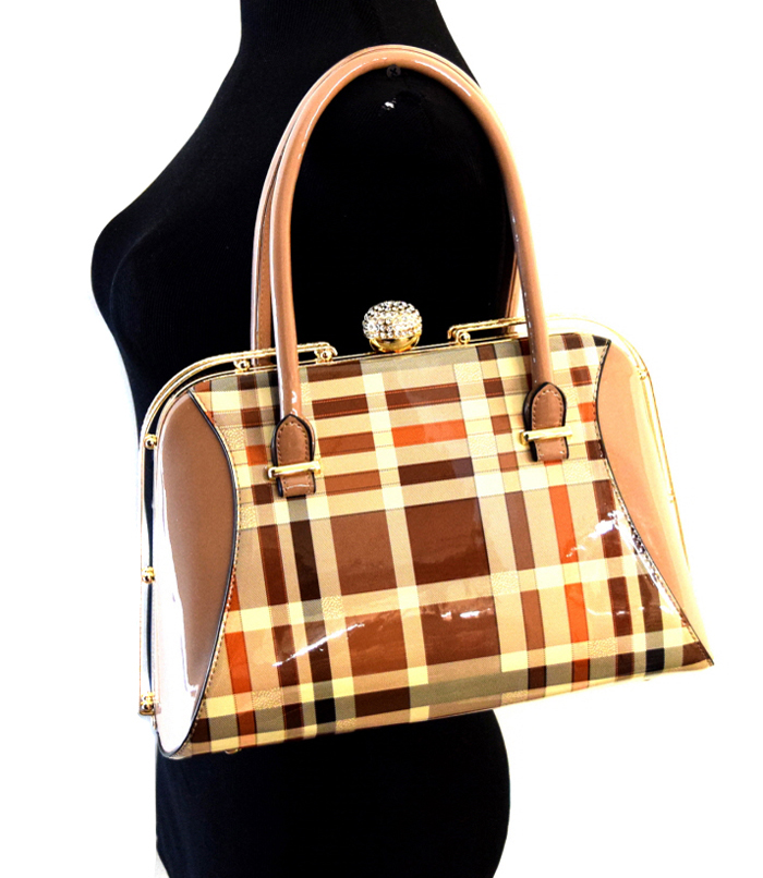 Plaid Bag Small Multi