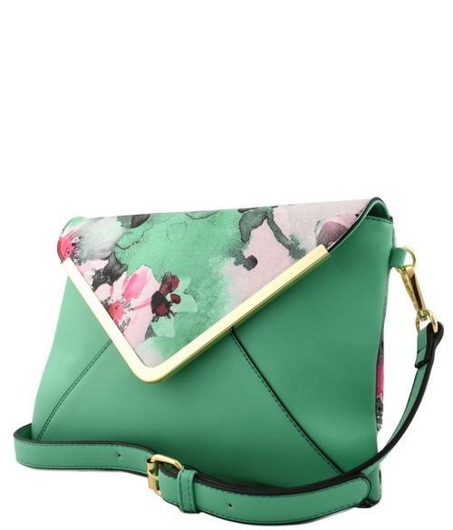 Roma Floral 3n1 Handbag Green5