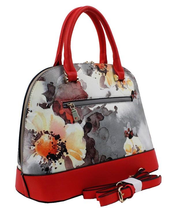 Roma Floral 3n1 Handbag Red6