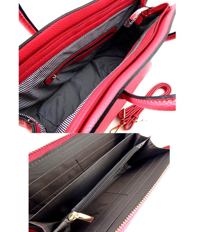 Galaria Fashion Handbag Fuchsia3