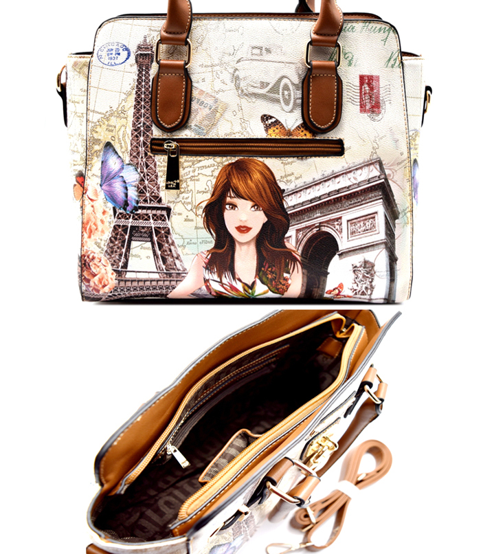 Katia Illustration Bag Brown2