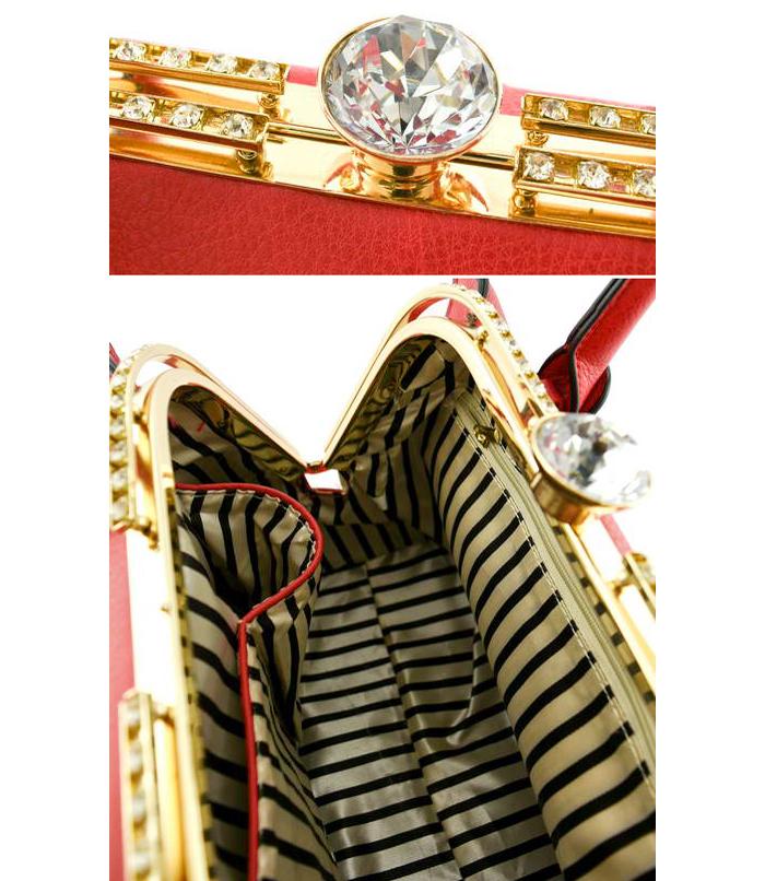 Lana Empress Handbag Red3