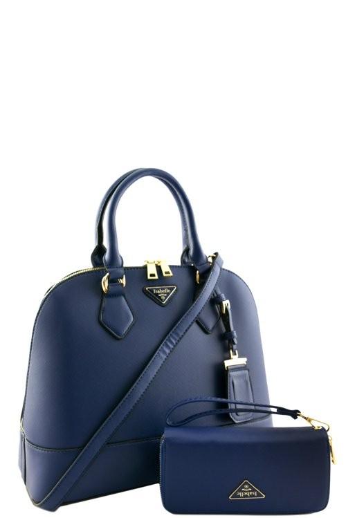 Melissa 2n1 Handbag Set Navy2