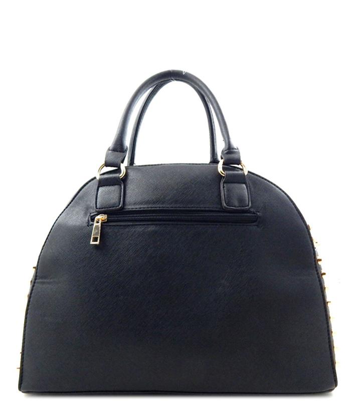 Nubia Studded Rhinestone Bag Black2