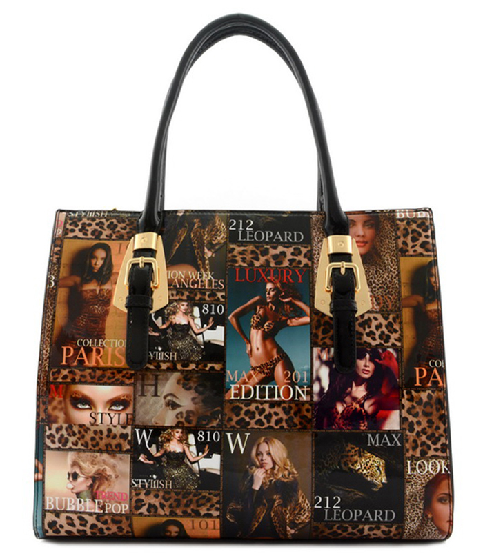 Sondra Empress Magazine Print Bag1