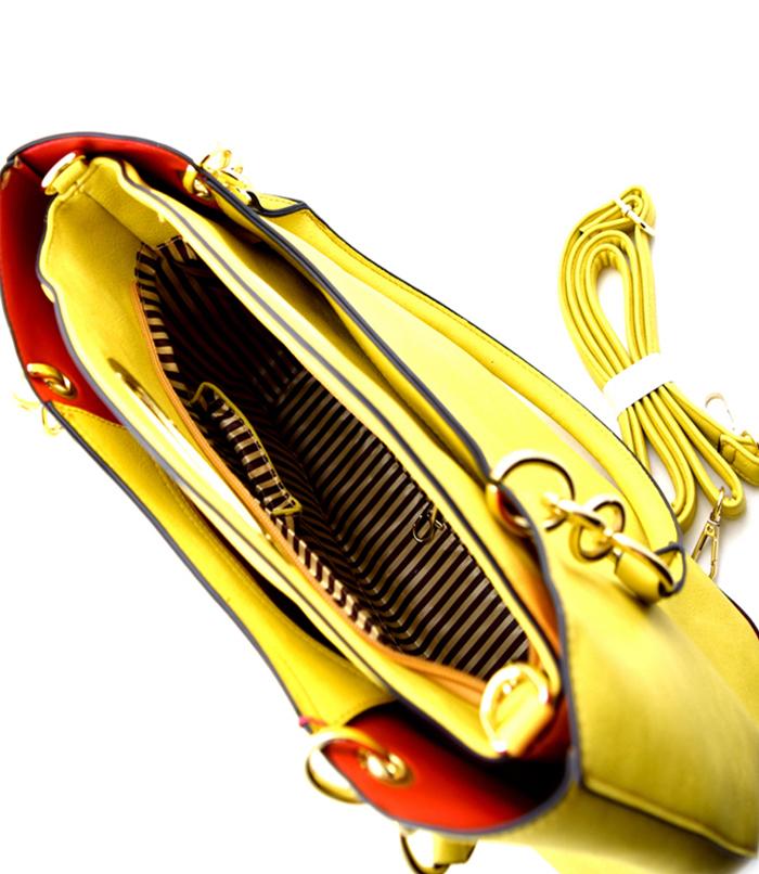 Randi 2n1 Tote Bag Yellow6