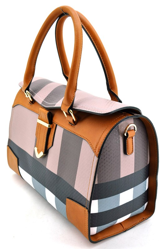 alexandra-plaid-boston-bag-brown-brown5